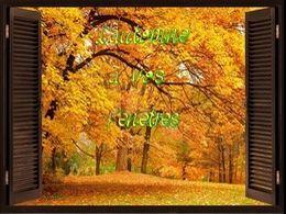 diaporama pps L'automne à vos fenêtres