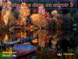 diaporama pps L'automne dans un miroir 3