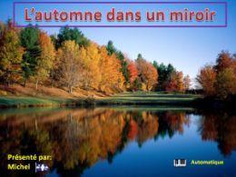 diaporama pps L'automne dans un miroir
