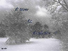 diaporama pps L'hiver en couleurs I