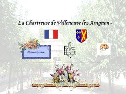 diaporama pps La Chartreuse de Villeneuve lez Avignon