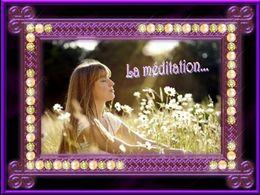 diaporama pps La méditation
