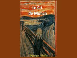 diaporama pps Le cri d'Edvard Munch
