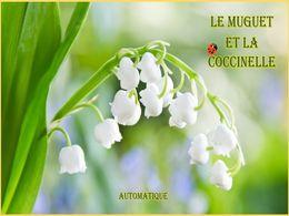 diaporama pps Le muguet et la coccinelle