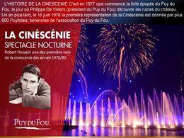 diaporama pps La Cinéscénie du Puy du Fou