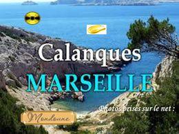 diaporama pps Les Calanques de Marseille
