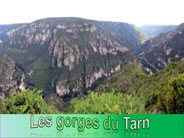 diaporama pps Les gorges du Tarn