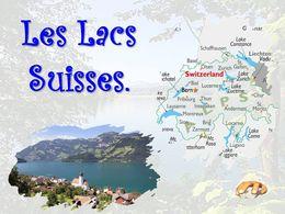 diaporama pps Les lacs suisses