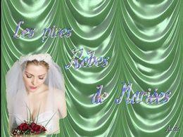 diaporama pps Les pires robes de mariées