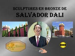 diaporama pps Sculptures en bronze de Salvador Dali