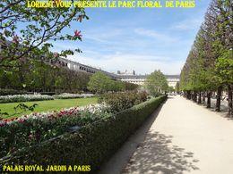 diaporama pps Le jardin floral de Paris