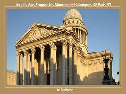 diaporama pps Les monuments de Paris