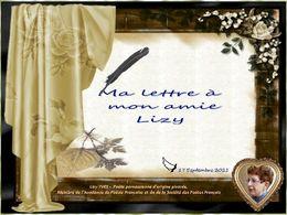diaporama pps Ma lettre à mon amie Lizy