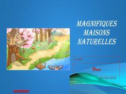 diaporama pps Magnifiques maisons naturelles