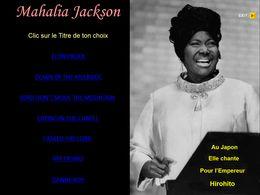 diaporama pps Mahalia Jackson I