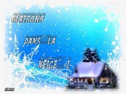 diaporama pps Maisons dans la neige I