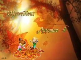 diaporama pps Merveilleux automne II