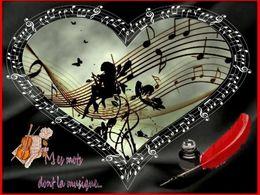 diaporama pps Mes mots dont la musique