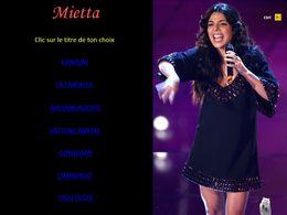 diaporama pps Mietta