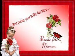 diaporama pps Mon poème pour la fête des Mères