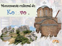 diaporama pps Monuments culturels du Kosovo