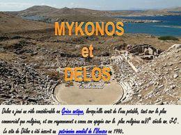 diaporama pps Mykonos et Délos