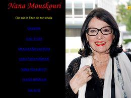diaporama pps Nana Mouskouri
