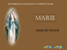 diaporama pps Oh Marie – Gerald de Palmas