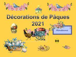 diaporama pps Décorations de Pâques 2021