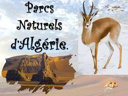 diaporama pps Parcs naturels d'Algerie