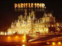 diaporama pps Paris le soir