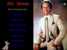 diaporama pps Pat Boone I