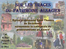 diaporama pps Église protestante Saint-Thomas de Strasbourg