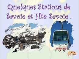 diaporama pps Quelques stations des Alpes