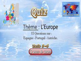diaporama pps Quiz l'Europe 5 – 6