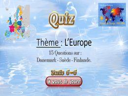 diaporama pps Quiz l'Europe 6 – 6