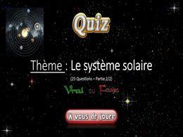 diaporama pps Quiz système solaire 2 – 2