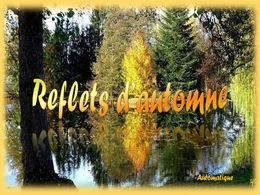 diaporama pps Reflets d'automne