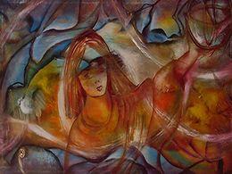 diaporama pps Rosa Lapinha peintures et poèmes