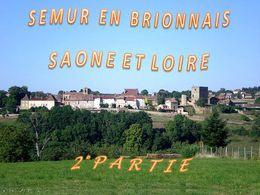 diaporama pps Semur-en-Brionnais – Saône-et-Loire 2