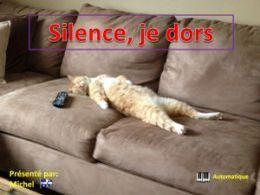 diaporama pps Silence je dors
