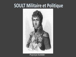 diaporama pps Soult militaire et politique