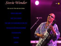 diaporama pps Stevie Wonder