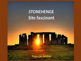 diaporama pps Stonehenge site fascinant