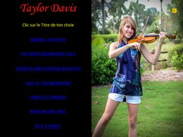 diaporama pps Taylor Davis