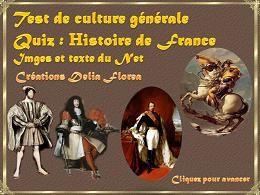 diaporama pps Test histoire de France