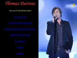 diaporama pps Thomas Dutronc