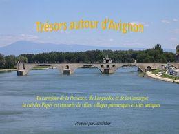 diaporama pps Trésors autour d'Avignon