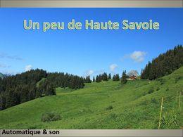 diaporama pps Un peu de Haute-Savoie
