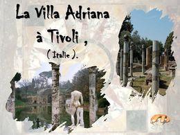 diaporama pps Villa d'Hadrien Tivoli